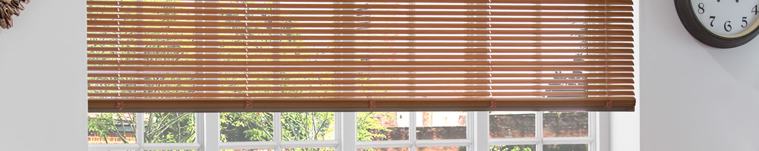 Wood and metal venetian blinds made and fitted in Aylesbury