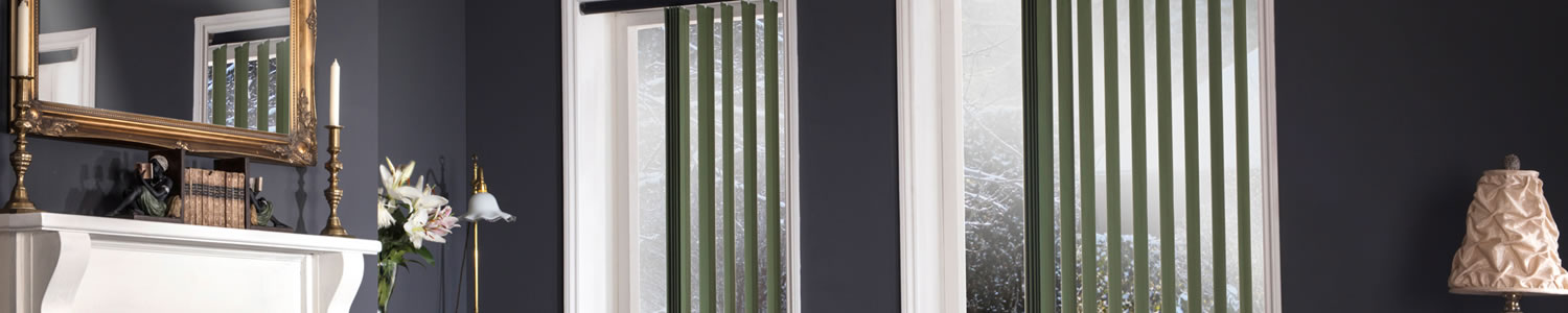 Vertical blinds in Aylesbury